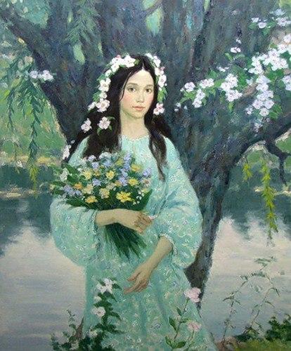Квітка папороті або квітка життя. Щастя.